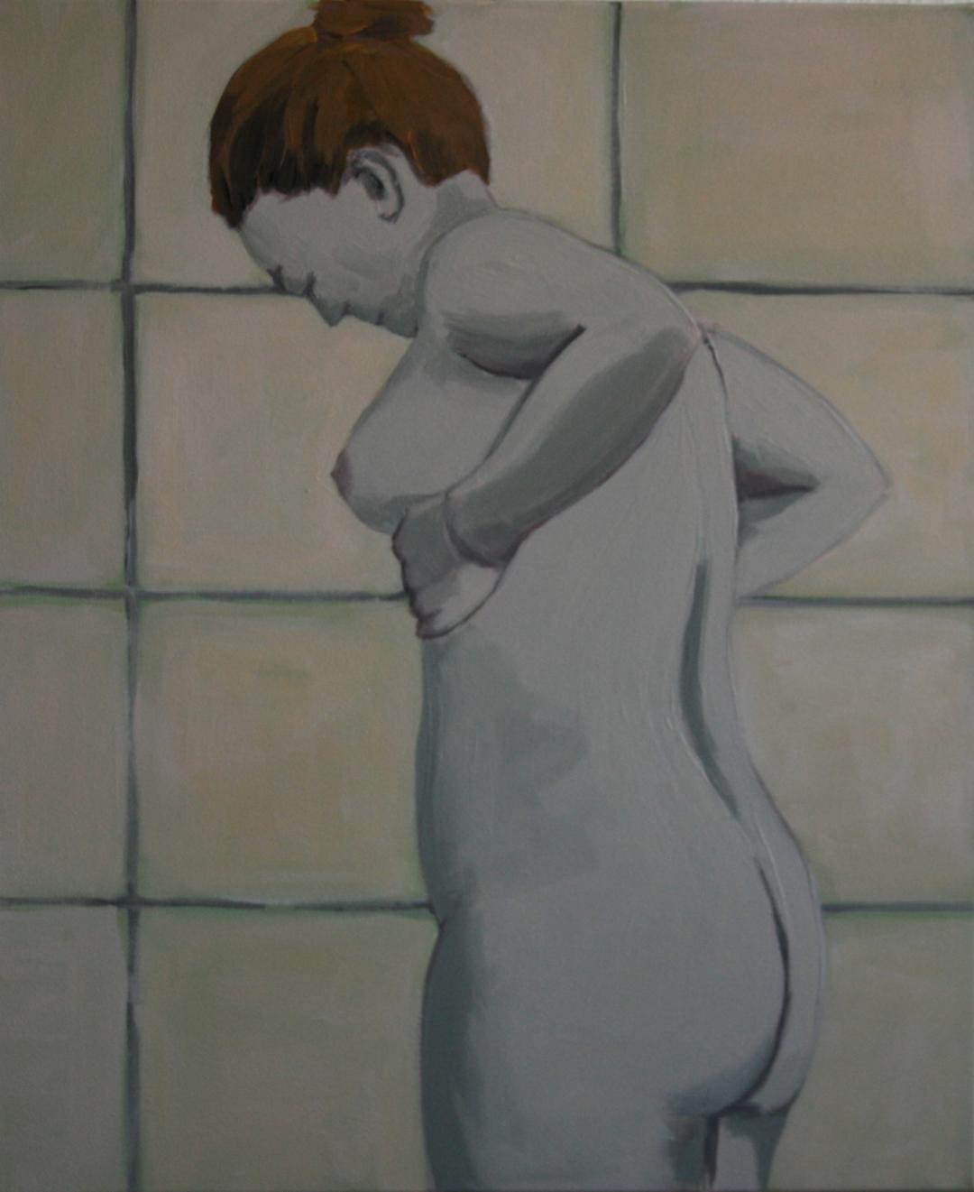 Ohne Titel, Acryl auf Leinwand, 50x60cm