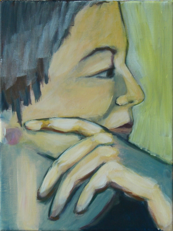 Ohne Titel, Acryl auf Leinwand, 30x40cm
