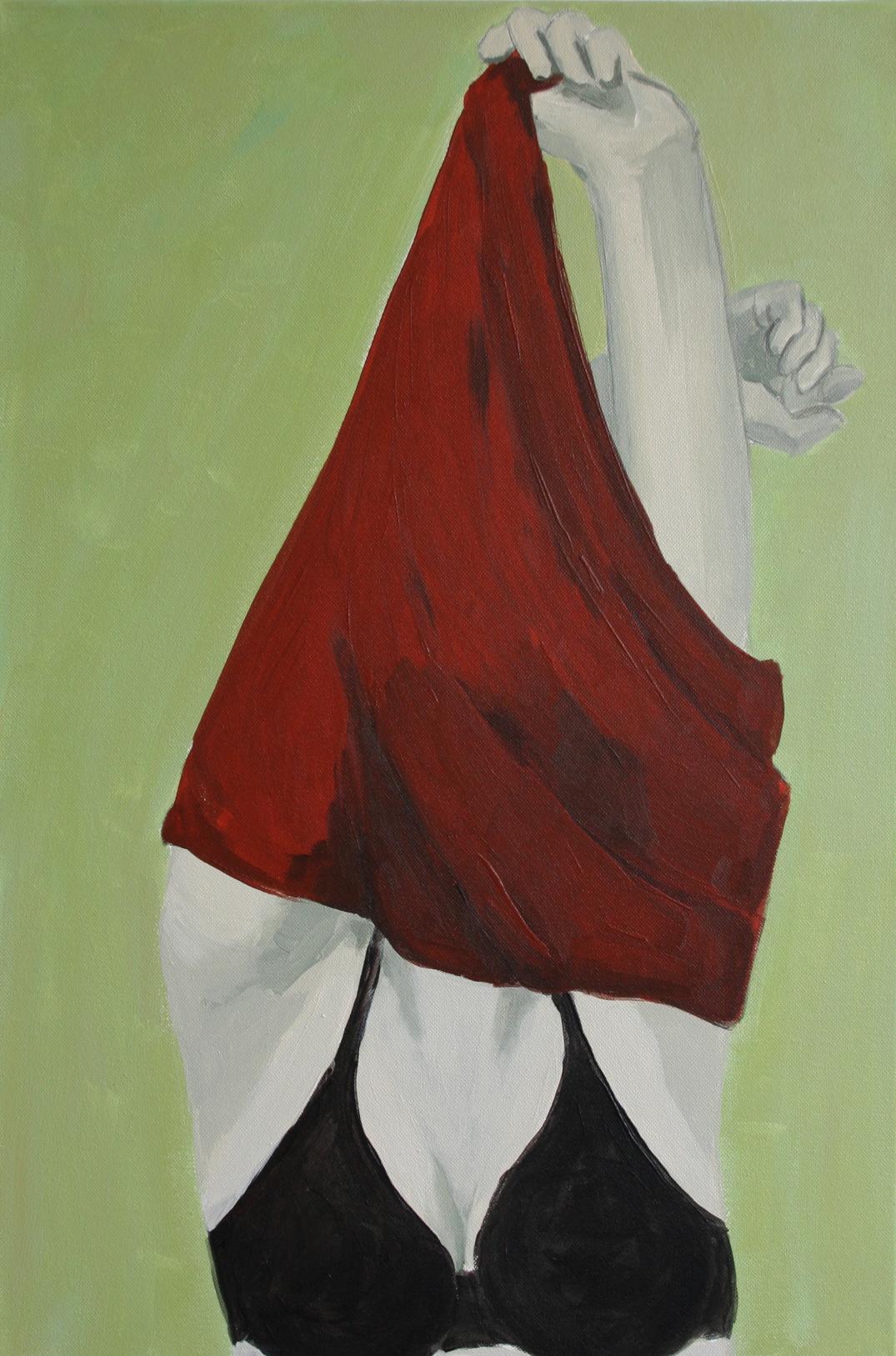 Ohne Titel, Acryl auf Leinwand, 40x60cm